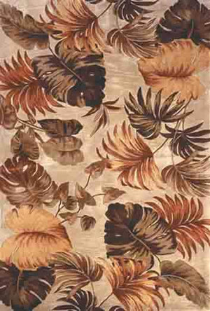 Sparta 3148 Beige Palm Leaves