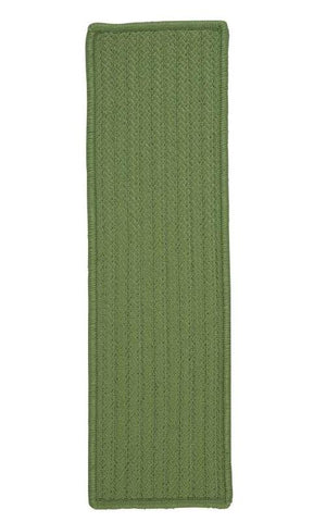 Simply Home Solid Moss Green Stair Tread (set 13)