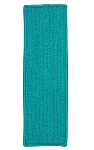 Simply Home Solid Turquoise Stair Tread (set 13)