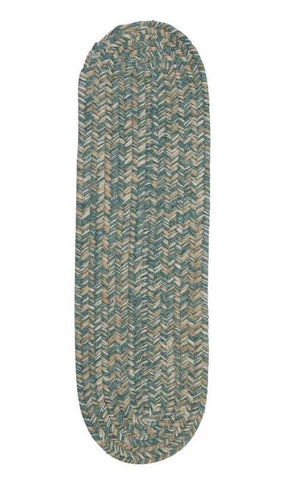Tremont Teal Stair Tread (set 13)
