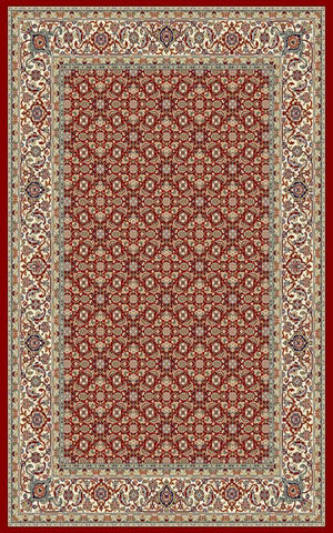 Ancient Garden 57011 Red/Ivory