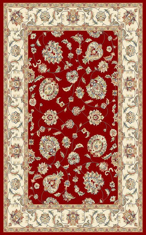 Ancient Garden 57365 Red/Ivory