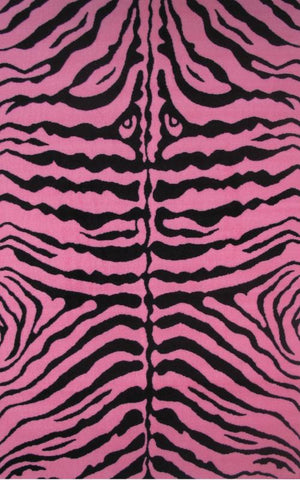 Fun Time Zebra Skin-Pink