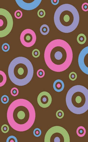 Alisa Dots in Dots Brown