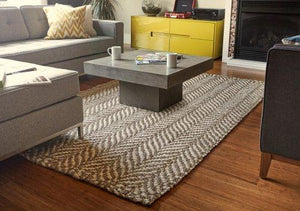 Sandscape Jute Rug Brown