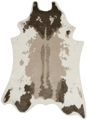 Faux Cow Hide FCH101A BEIGE
