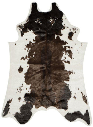 Faux Cow Hide FCH101C BROWN