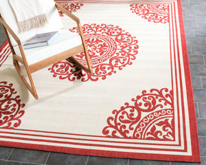 Courtyard CYS6298 Beige / Red