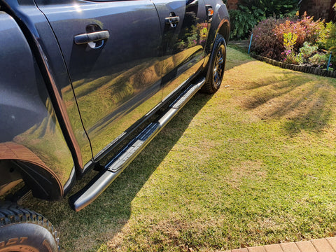 Ford Ranger PNC Black Side Steps - Saftrade
