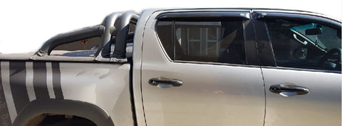 Toyota Hilux Black T4 Sports Bar - Saftrade