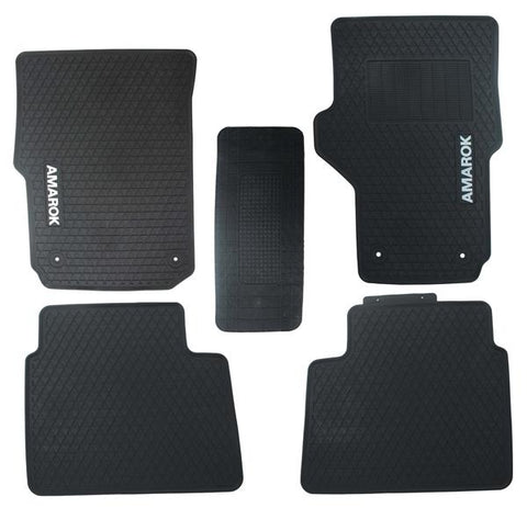 VW Amarok Rubber Floor Liners - Saftrade