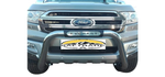 Ford Everest PDC Compatible Nudge Bar Stainless Steel - Saftrade