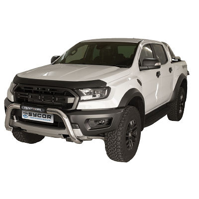 Ford Raptor Stainless Steel Nudge Bar - Saftrade