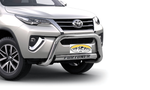 Toyota Fortuner Nudge Bar Stainless Steel 2016+ - Saftrade