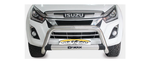 Isuzu Stainless Steel Nudge Bar - Saftrade