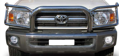 Toyota Landcruiser LC70 Wrap Around Bull Bar - Saftrade