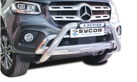 Mercedes Benz X Class PDC nudge bar - Saftrade