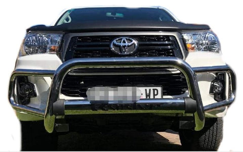Toyota Hilux Wrap Around Grill Gaurd 2016+ - Saftrade