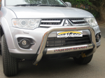 Mitsubishi Pajero Sprort Nudge Bar - Saftrade