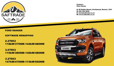 Ford Ranger ECU Software Remap - Saftrade