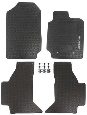Ford Ranger Rubber Floor Liners - Saftrade