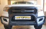 Ford Ranger Black Grill Guard - Saftrade