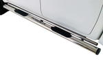 Toyota Hilux Stainless Steel Side Steps 2016+ - Saftrade