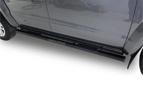 Volkswagen Amarok Black Side Steps - Saftrade