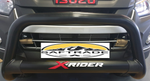 Isuzu X Rider Nudge Bar Black - Saftrade