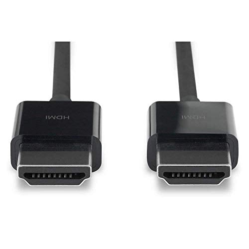 Apple MC838LL/B HDMI to HDMI Cable (1.8M) (Renewed)