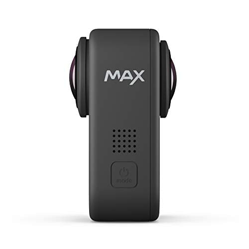 GoPro MAX — Waterproof 360 + Traditional Camera with Touch Screen Spherical 5.6K30 HD Video 16.6MP 360 Photos 1080p Live Streaming Stabilization