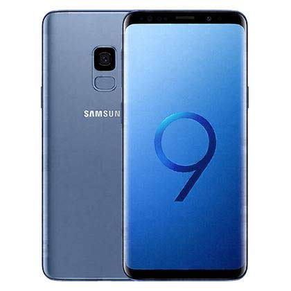 Samsung Galaxy S9 G960U Verizon + GSM Unlocked (Renewed) (Coral Blue, 64GB)