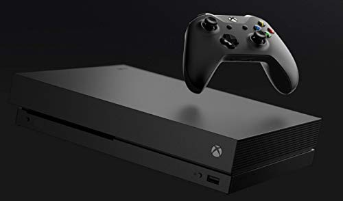 Microsoft Xbox One X 1TB CYV-00001 Console with Wireless Controller: Xbox One X Enhanced, HDR, Native 4K, Ultra HD