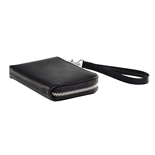 HP Sprocket Black Wallet Case (2HS23A) (Renewed)