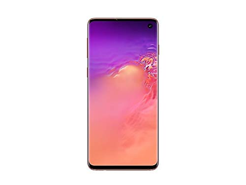 Samsung Galaxy S10 Factory Unlocked Phone with 128GB (U.S. Warranty), Flamingo Pink (Renewed)