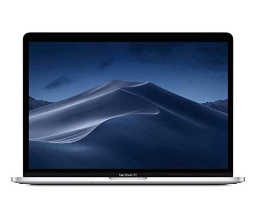 Apple MacBook Pro (13-inch Retina, Touch Bar, 2.3GHz Quad-Core Intel Core i5, 8GB RAM, 256GB SSD) - Silver (Previous Model) (Renewed)