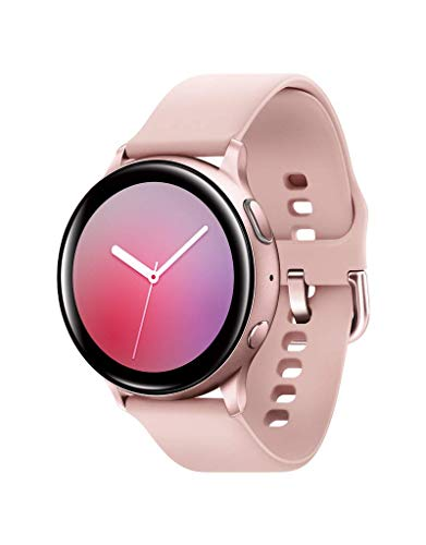 Samsung Galaxy Watch Active2 w/ enhanced sleep tracking analysis, auto workout tracking, and pace coaching (40mm), Pink Gold - US Version with Warranty (Renewed)
