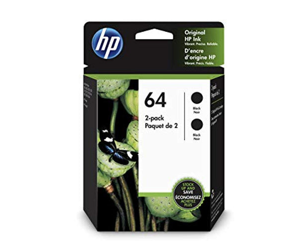 HP 64 3YP22AN#140 2 Ink Cartridge Black 3YP22AN