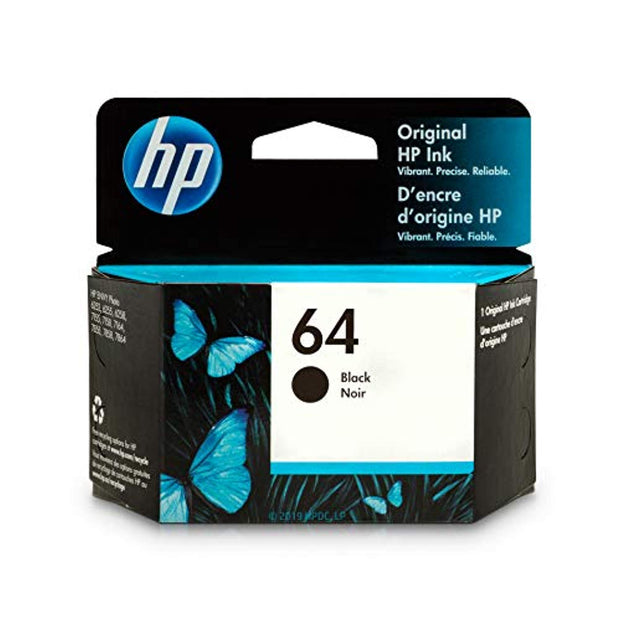 HP 64 N9J90AN#140 Ink Cartridge Black N9J90AN