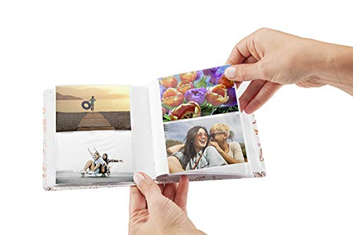 HP Sprocket Gold and White Photo Album (2HS31A) (Renewed)