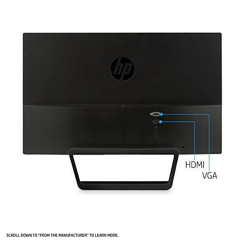 HP Pavilion 22CWA 21.5 IPS LED Monitor 1920x1080 Full HD HDMI VGA (Renewed)