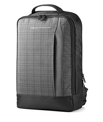 "HP Carrying Case (Backpack) for 15.6"" Ultrabook - Black, Gray F3W16AA"