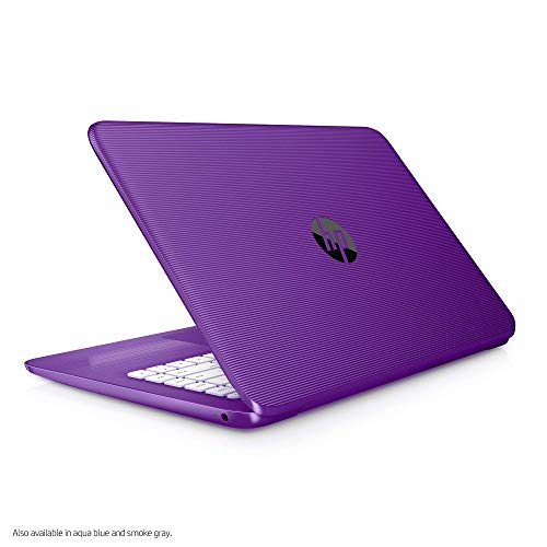 HP Stream 14-inch Laptop, Intel Celeron N3060 Processor, 4 GB SDRAM Memory, 64 GB eMMC Storage, Windows 10 Home in S Mode with Office 365 Personal for one Year (14-cb050nr, Infinity Purple) (Renewed)