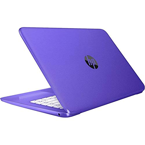 HP Lightweight Stream- 14in HD LED, Intel Celeron N3060, 4GB Ram, 32GB SSD, Intel HD Graphics, Win10 Home-Purple (Renewed)
