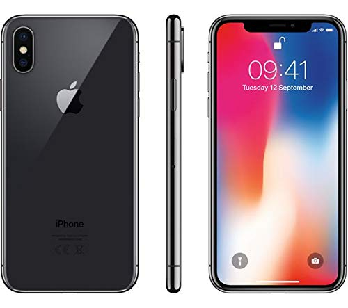 Apple iPhone X a1901 256GB Space Gray LTE GSM Unlocked (Renewed)