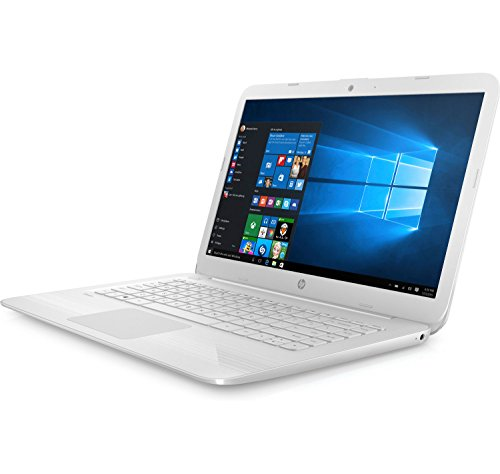 "HP Stream Notebook 14-AX067NR - 14"" Screen, Celeron N @ 1.6GHZ, 4GB RAM, 32GB eMMC, in Snow White (Certified Refurbished)"