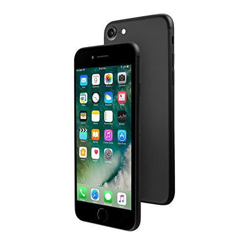 Apple iPhone 7, 256GB, Black - For AT&T / T-Mobile (Renewed)