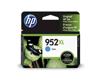 HP 952XL L0S61AN#140 Ink Cartridge Cyan