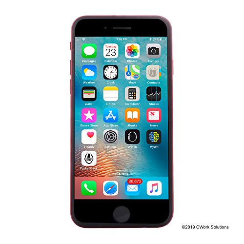 Apple iPhone 8, 64GB, Red - Fully Unlocked (Renewed)