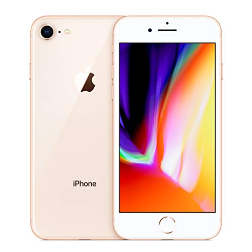 Apple iPhone 8, 64GB, Gold - For AT&T / T-Mobile (Renewed)